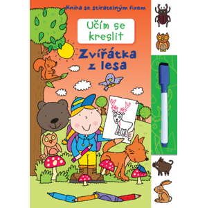 SVOJTKA & Co., s.r.o. Učím se kreslit – Zvířátka z lesa