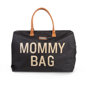 CHILDHOME PŘEBALOVACÍ TAŠKA MOMMY BAG BLACK GOLD