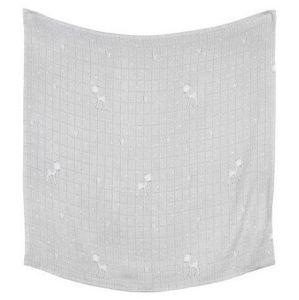 Effiki - Bambusová swaddle přikrývka by M. Socha - šedá - ROE DEAR 120 x 120