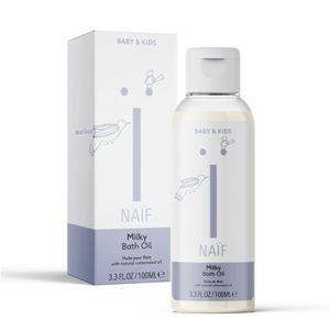 NAIF Mléčný koupelový olej pro děti a miminka přírodní