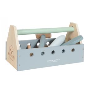 Little Dutch Dřevěné nářadá v boxu (15 dílů + box)