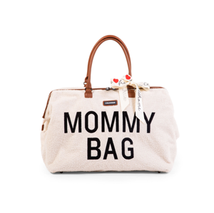 CHILDHOME PŘEBALOVACÍ TAŠKA MOMMY BAG TEDDY OFF WHITE