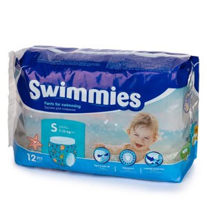 Ontex Group Swimmies S, 7-13 kg, 12 ks